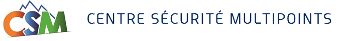 Logo CSM CENTRE SECURITE MULTIPOINTS